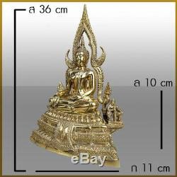 Thai Phra Chinnarat Buddha Religion Statue Brass Phitsanulok talisman amulet