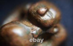 Thai amulet Happy Buddha (Pra Sang kachai) Ancient Style of Chiang-sang image
