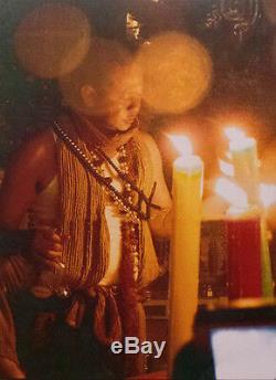 Thai amulet Payant Yantra Buddha God of NAGA Talisman AJ Mom Bring lucky Prtoect
