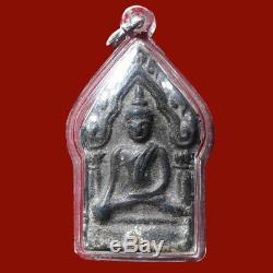 Thai ancient buddha amulet phra khun paen Kru Wat Phra Sri Mahathat, Suphanburi