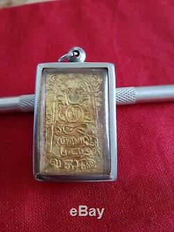 Thai buddha (Relics) amulet Somdet