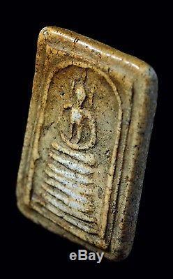 Thai buddha amulet necklace. Pha Somdej wat kedchiyo