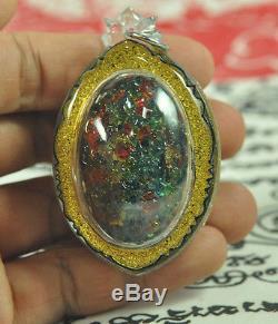 The Best LEKLAI King Phaya Kod Phee Kaew Thai Buddha Jewel Natural Magic Amulet