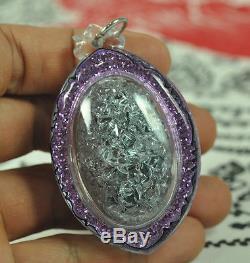 The Best LEKLAI King Phaya Kod phee Kaew Crystal Top Thai Buddha Amulet Pendant