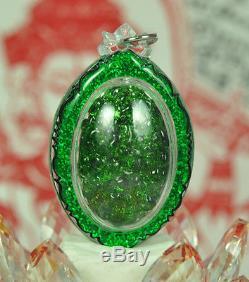 The Best LEKLAI King Phaya Kod phee Kaew Lp Somporn Thai Buddha Amulet Pendant