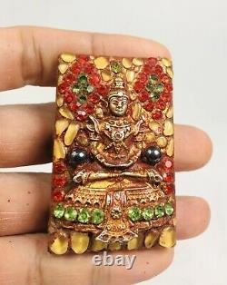 The Emerald Buddha 3 season Kru wat Phra Kaew temple Somdej Lp Toh Thai amulet