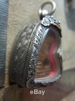 Tiger Amulet Sur L P Wong Wat Pariwat Bangkok yr 2501-2519 Thai Buddha