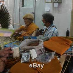 Tob Real Rare! Lp Koon Buddhist Monk Robes Pendant Thai Buddha Amulet Thailand