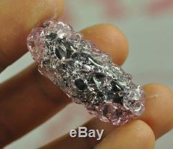 Top Best LEKLAI King Phaya Kod Phee RED Kaew crystal Thai Buddha Natural Amulet