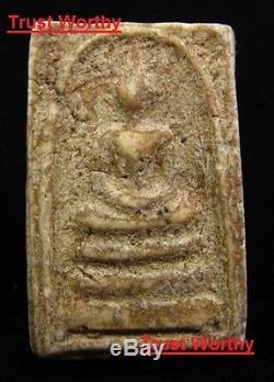 VERY RARE 18K gold case Phra Somdej PimYai Wat Rakang Buddha Thai Amulet