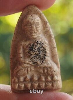 Vintage Super LP Thuad Buddha Thai Amulet Powerful Wealth Luck Magic