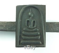 Wood Black Black Tree Phra Somdej Toh Pim Yai Wat Rakang Thai Buddha Amulet Rare