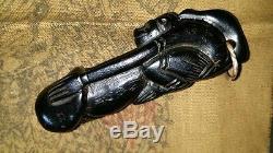 Wood Thai Amulet Powerful Attraction Love Paladkik Magic Rich Luck Buddha Charm