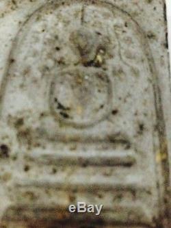 Year2514! Phra Somdej Prokpoh Bilan LP Pae Wat Pikulthong Thai Amulet Buddha
